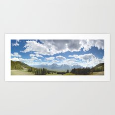Canada, Rocky Mountains Art Print