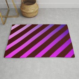 diagonal stripes pattern Rug