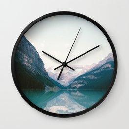 Lake Louise #society6 #nature Wall Clock