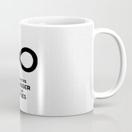 Some infinities are bigger than other infinities Coffee Mug