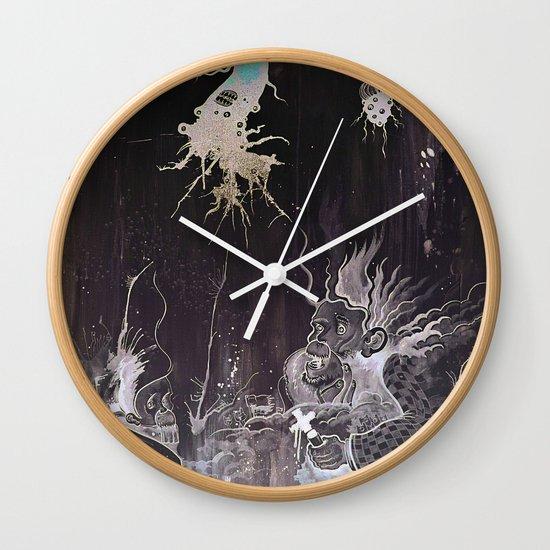 Black and White and a Rubin Wall Clock