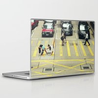 musa Laptop & iPad Skins featuring Dancers Stopping Traffic by Musa Do Verao - Camilla Warburton