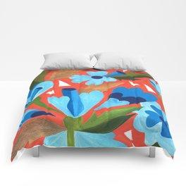 Floral Folk  Comforters