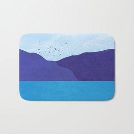 Sea poster Bath Mat