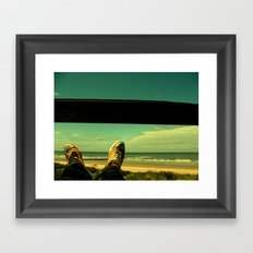 Chillax Framed Art Print