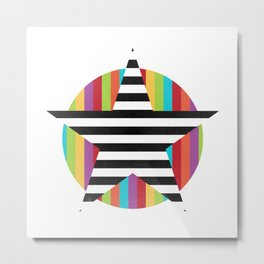 Star & Stripes Metal Print