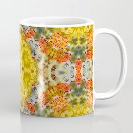 Marigold Kaleidoscope Photographic Pattern #1 Coffee Mug