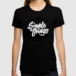 Simple Things lettering T-shirt