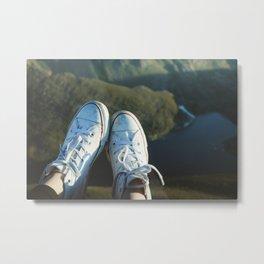 Converse & Lake Metal Print