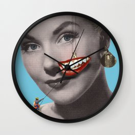 You make me smile... Wall Clock