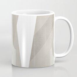 Desert Shadow   Abstract in Neutrals Coffee Mug