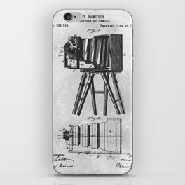 1885 Photographic camera iPhone Skin