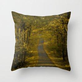 Autumn's scent Throw Pillow