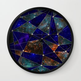 Stars Connections Wall Clock