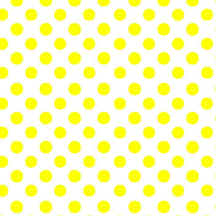 Polka Dots (Yellow/White) Leggings