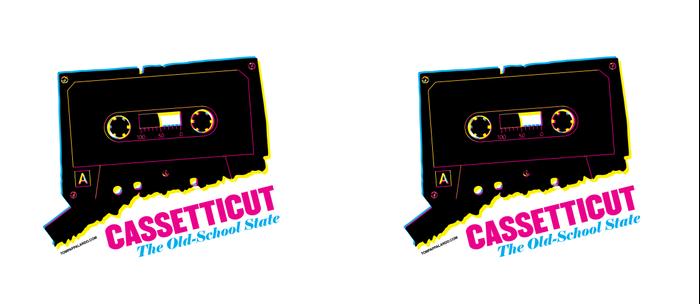 Cassetticut: The Old School State Coffee Mug