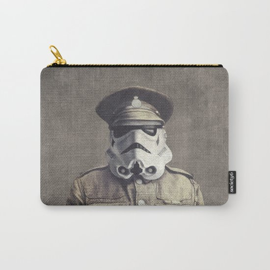 Sgt. Stormley - square format Carry-All Pouch