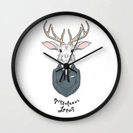 Epistolarus Lepus (milk) Wall Clock