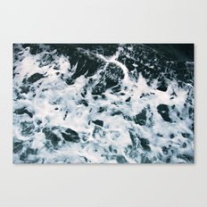 Choppy Water Canvas Print