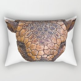 Armadillo Face Mammal Dirty Anonymous Thick Skin Rectangular Pillow