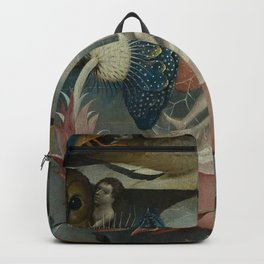 Lovers in a bubble - Hieronymus Bosch Backpack