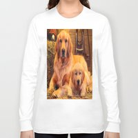 mom Long Sleeve T-shirts featuring Mom by Robin Curtiss