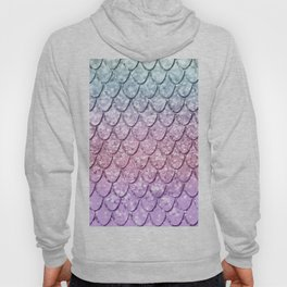 Mermaid Scales on Unicorn Girls Glitter #4 #shiny #pastel #decor #art #society6 Hoody