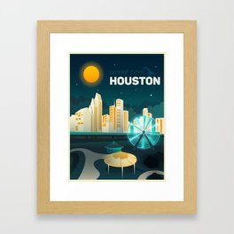 Hope For Houston Framed Art Print