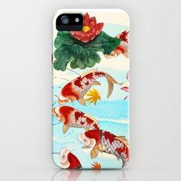 Chinese Koi Dream iPhone Case