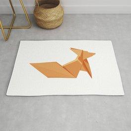 Origami Fennec Fox Rug