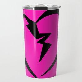 Hot Pink Heartbreak Travel Mug