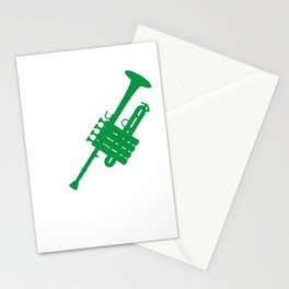 Piccolo Artist Awesome Musical Instruments Flute Aerophone Musicians Gift Stationery Cards