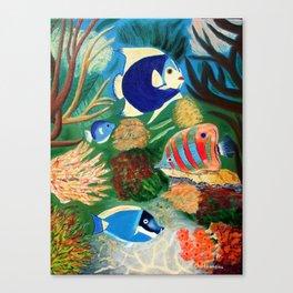 Magnificent sight sea world | Vue magnifique des bas fonds Canvas Print