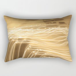strokes of light Rectangular Pillow