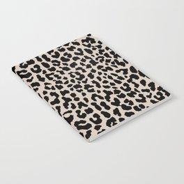 Tan Leopard Notebook