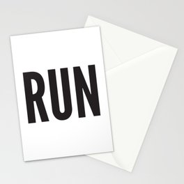 RUN Stationery Cards