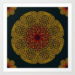 Poptab Rosetta Art Print