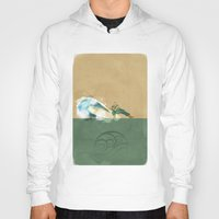 airbender Hoodies featuring Avatar Korra by daniel