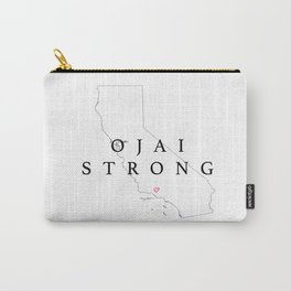 OJAI STRONG MAP Carry-All Pouch