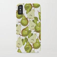 Pears Pattern iPhone X Slim Case