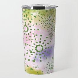 Candys Hippie Design 4 Travel Mug