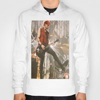 michael clifford Hoodies featuring Clifford Michael // Live by Fan_Girl_Designs