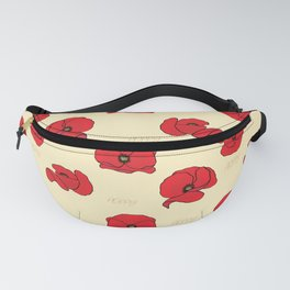 Just a simple Poppy pattern Fanny Pack