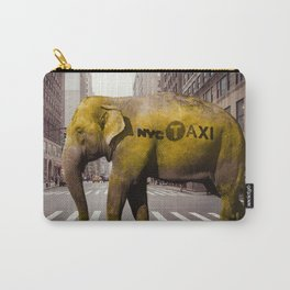 Elephant Taxi NYC Carry-All Pouch