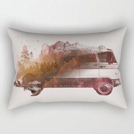 Drive me back home Rectangular Pillow