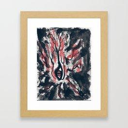 """the """"I"""" Framed Art Print"""