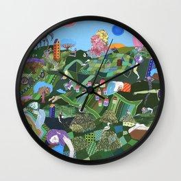 Sleeping Giants Wall Clock