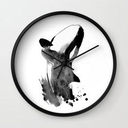 Whale003 Wall Clock