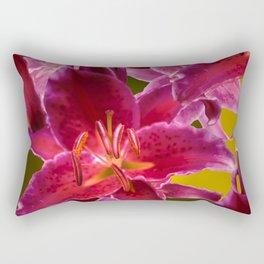 Beautiful Flowers on Fall Colors #decor #society6 #buyart Rectangular Pillow