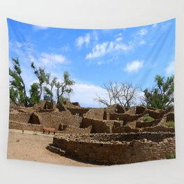 Aztec Ruins New Mexico Wall Tapestry
